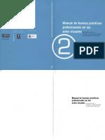 Manual Buenas Practicas profesionales en las artes visuales