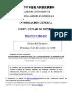 Informacion General 2018 Cdmx