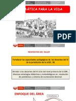 PPT TALLER DE MATEMÁTICA MATEMÁTICA PARA LA VIDA.pdf
