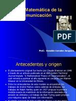 Teoria matemática de la comunicación