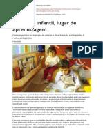 Educacao Infantil Lugar de Aprendizagempdf