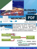 bloqueadores musculares