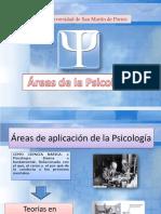 Areás de La Psicología 2018-II (1)