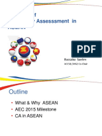Direction of Conformity Assesssment in ASEAN