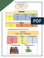 3. Presente Simple y Análisis Del Tema