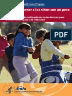 Guia Alimentarioa Niños Amricanos Brochure