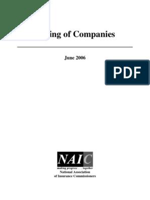 Listing of Companies: June 2006