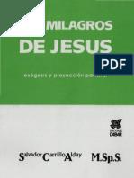 Los milagros de Jesús, Salvador Carrillo ALday