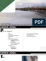 Plan Director Cerro azul