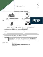 Gramatíca Adjetivos Mostrativos 4-3