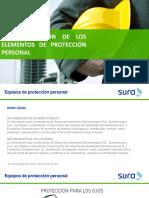 Clasificacion de Los Equipos de Proteccion Personal