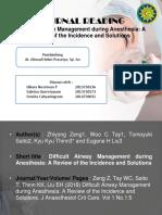 Journal Reading Difficult Airway Management.pptx