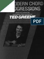 Modern Chord Progressions - Ted Greene.pdf