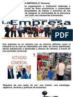 Const,Org. Adm. de Emp. (2° Semana)