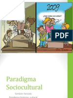 Paradigma Sociocultural 11