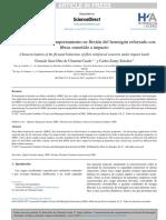 CARACTERIZACION DEL COMPORTAMIENTO EN FLEXION DEL HORMIGON REFORZADO CON FIBRAS SOMETIDO A IMPACTO HORMIGON Y ACERO.pdf