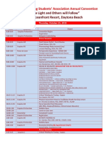 FNSA Convention Draft Agenda 2018- F