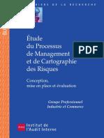 Cahier de La Recherche Processus Management Et Carto Des Risques