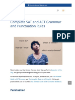 SAT and ACT Grammar Rules and Punctiuation _ SAT Grammar Rules