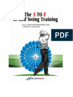 The A TO C Of Golf Swing training