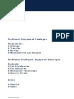 Catálogo Geral de Produtos PROMINENT