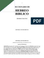 Diccionario Hebreo Bíblico - Moisés Chavez.pdf