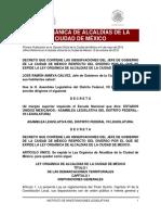 Ley Alcaldías