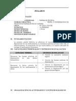 Silabus de Venta y Dispensacion de Productos Farmaceuticos y Afines