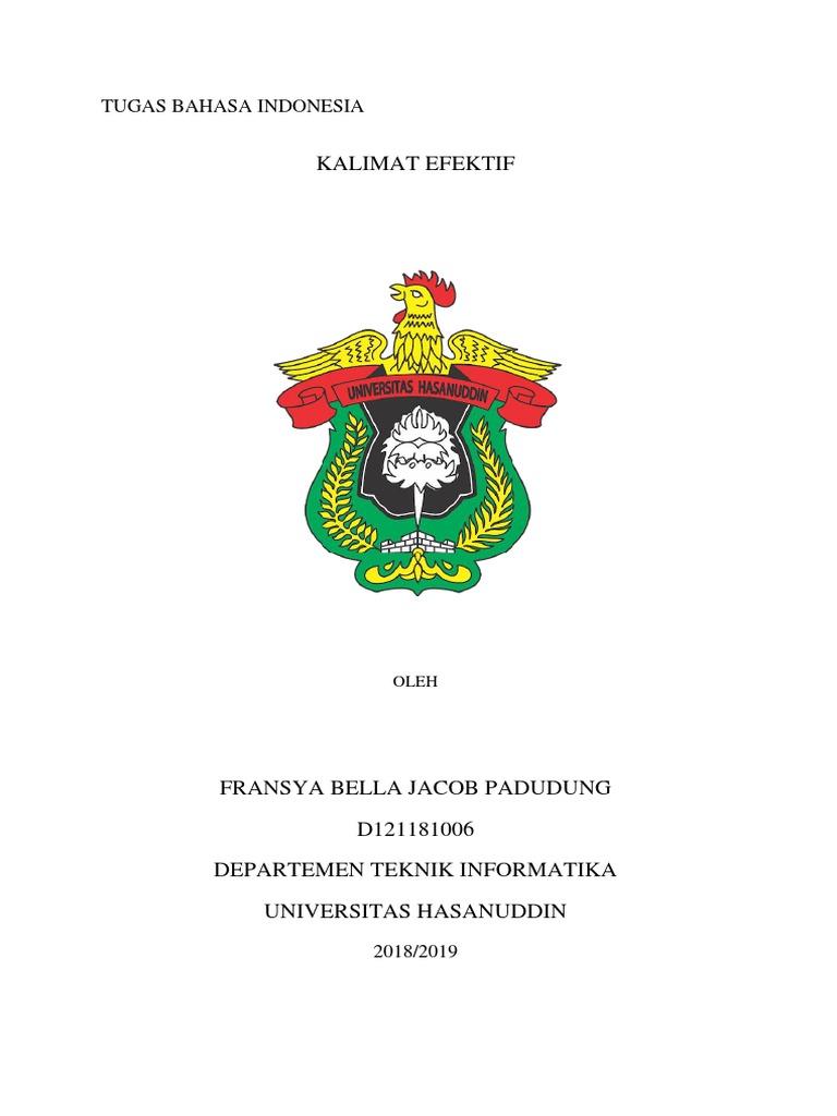 Tugas Bahasa Indonesia_kalimat Efektif