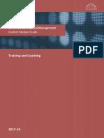4.Training and Coaching L4 Module Guide 17-18