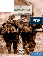 Samuel Jonhson. Falkland-Malvinas. Panfleto Contra La Guerra 1771.