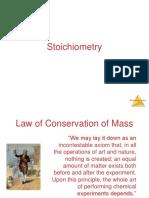 Lecture 4 Stoikiometri