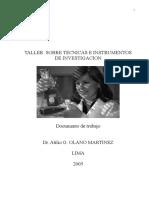 Seminario Taller de Tesis II Tecnicas e Instrumentos de Investigaci%c3%93n[1]