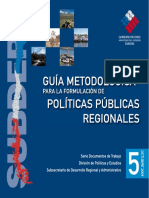 Guia Metodológica Políticas Públicas