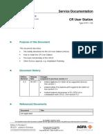CR User Station - Technical Documentation