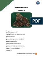 Minerales Cobre