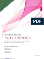 Monitor LG 23mp55hq