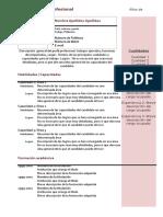 Curriculum Vitae Modelo4c Granate