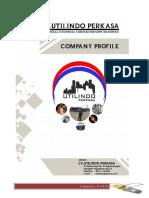 Company Profile Utilindo Perkasa 2018