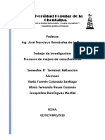 Procesos de Mejora de Caracteristicas PP