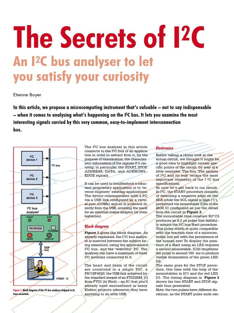 The_Secrets_of_I2C pdf | Manufactured Goods | Digital & Social Media