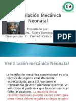 Ventilación Mecánica Neonatal.ppt. Yudith