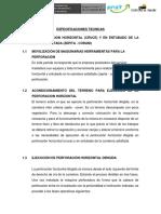 05.00.00. Perforacion Horizontal (Cruce) y en Entubado de La Carretera Asfaltada (Zepita - Corani)