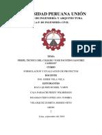 Perfil Del Colegio Jose Faustino Sanchez( Pulido) (2)