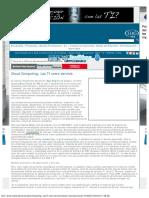Cloud Computing_ Las TI Como Servicio - Network World