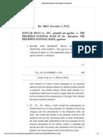 Insular Drug Co. vs. National Bank