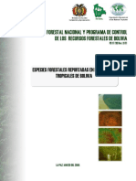 Documento Especies Infobol