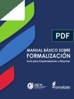 Manual Básico sobre Formalización