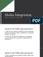 Media Integration