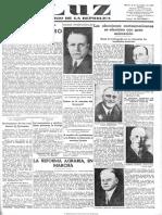 Luz (Madrid. 1932). 8-11-1932